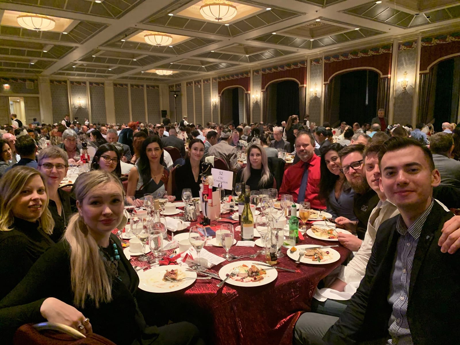 CDC Construction team at BOMA luncheon