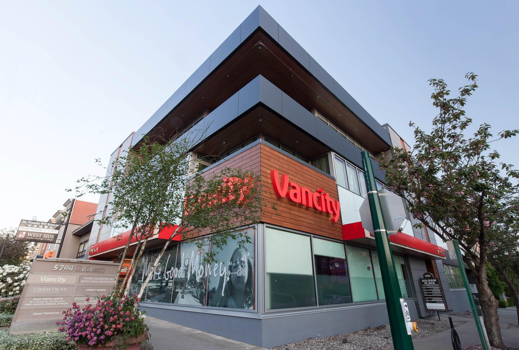 Vancity bank tenant improvement