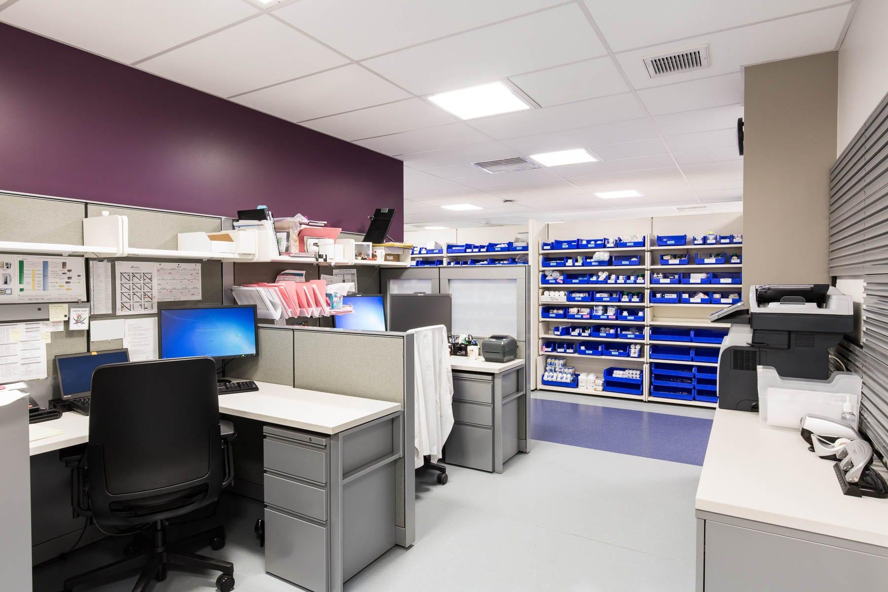 VGH's renovated regional pharmacy distribution centre