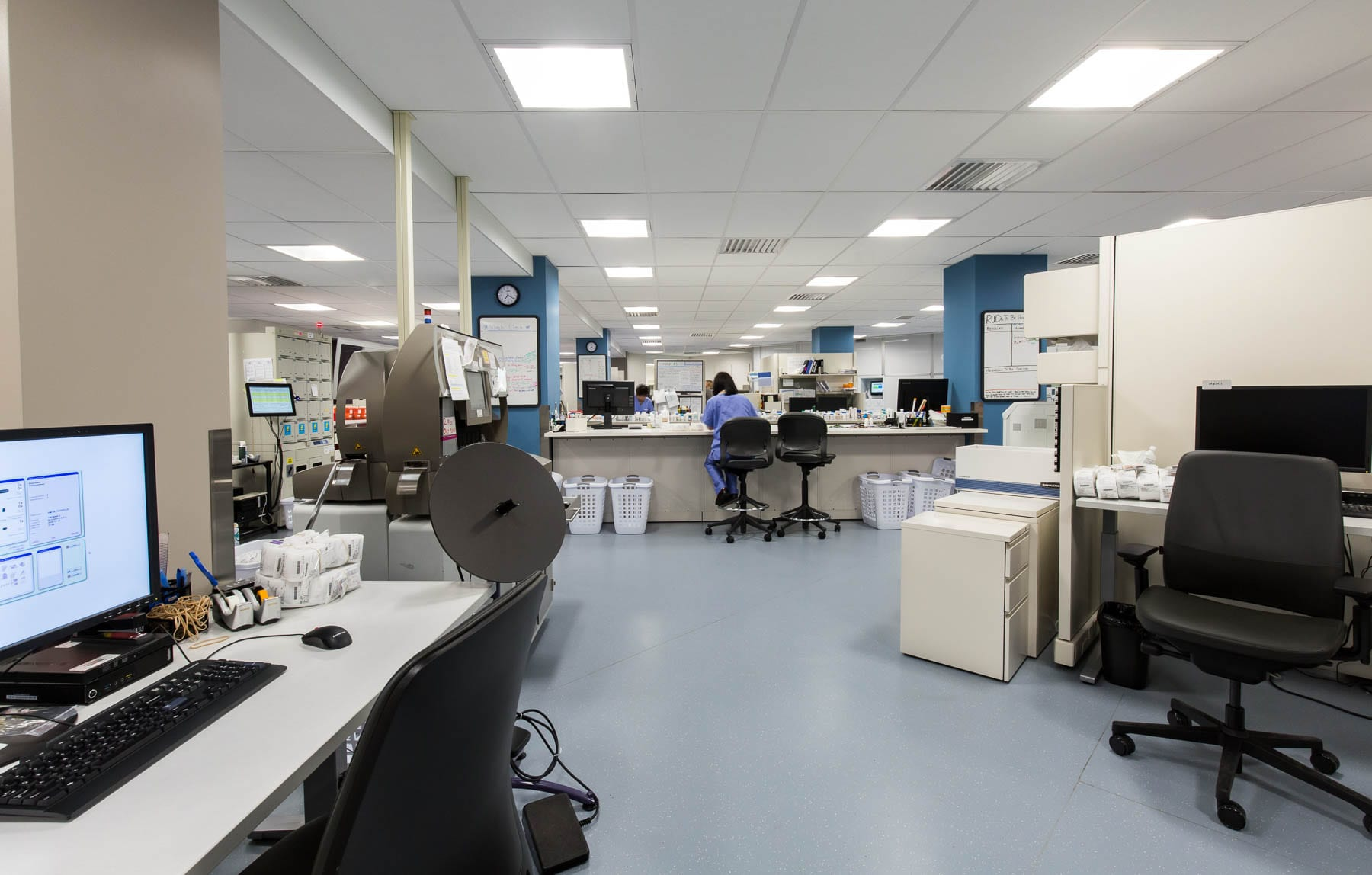 CDC upgraded the regional production and pharmacy facility at VGH