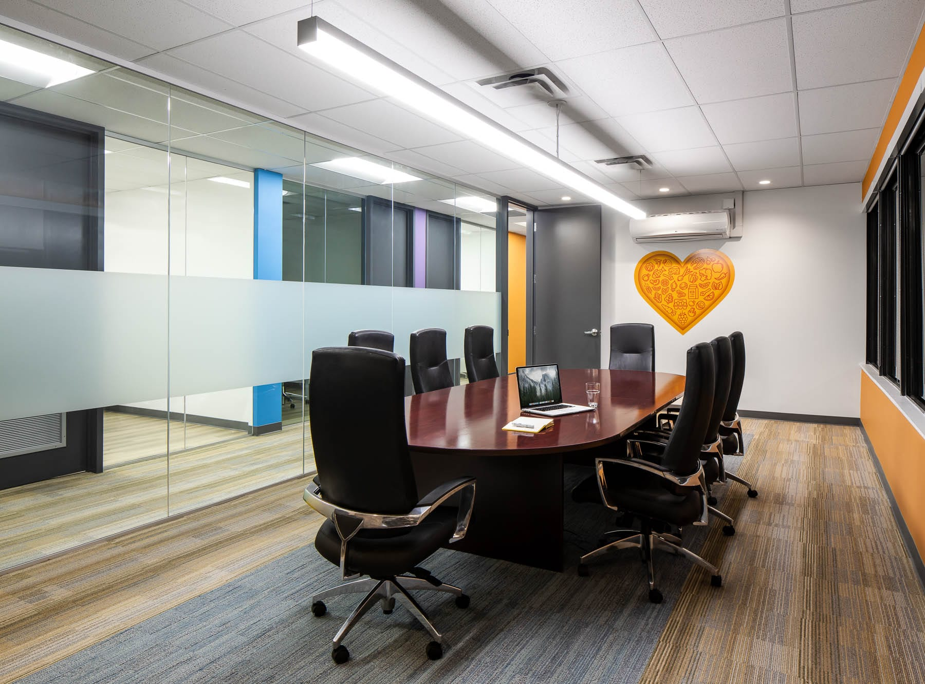 Greater Vancouver Food Bank relocation and interior fitout