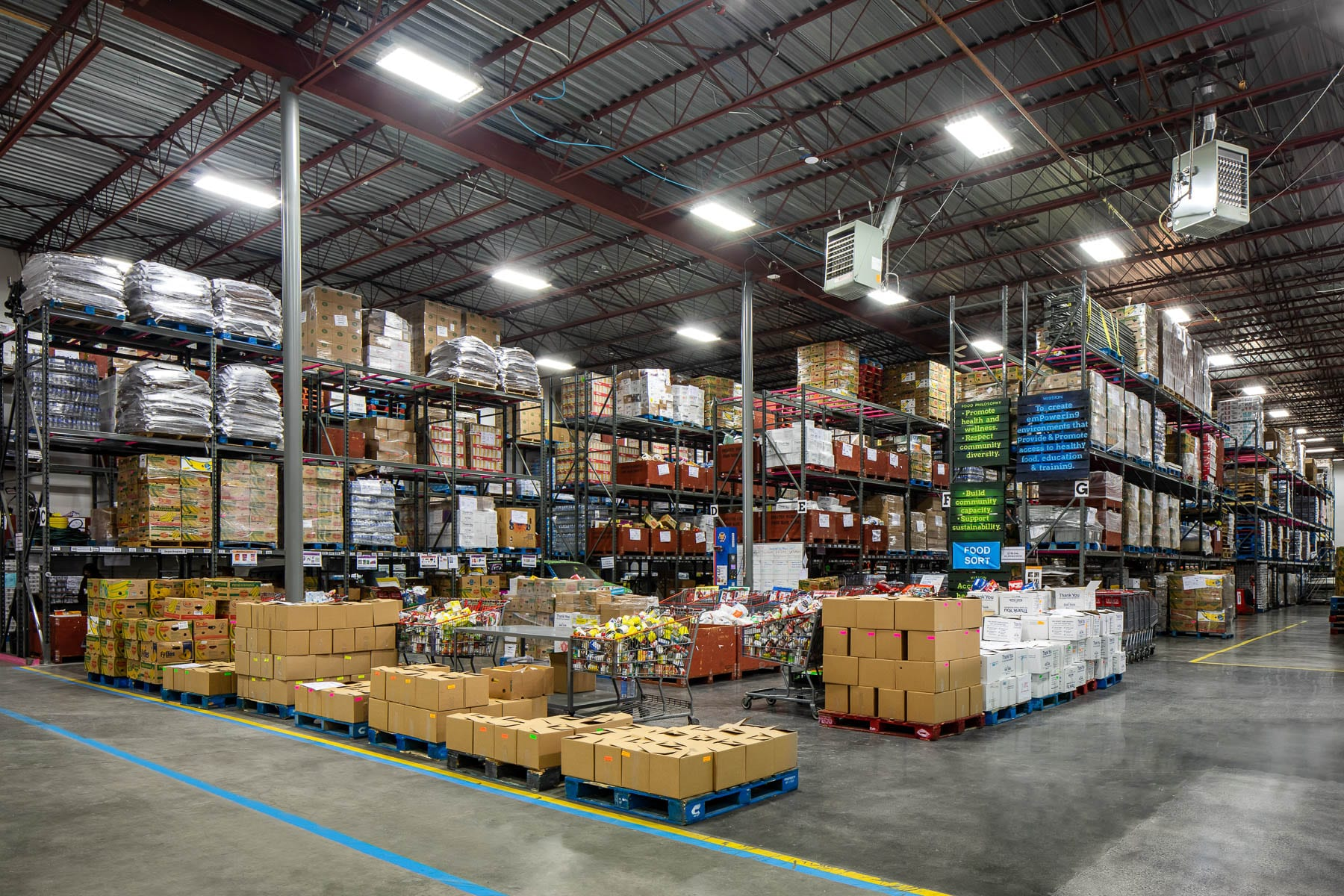 New Burnaby Greater Vancouver Food Bank warehouse facility