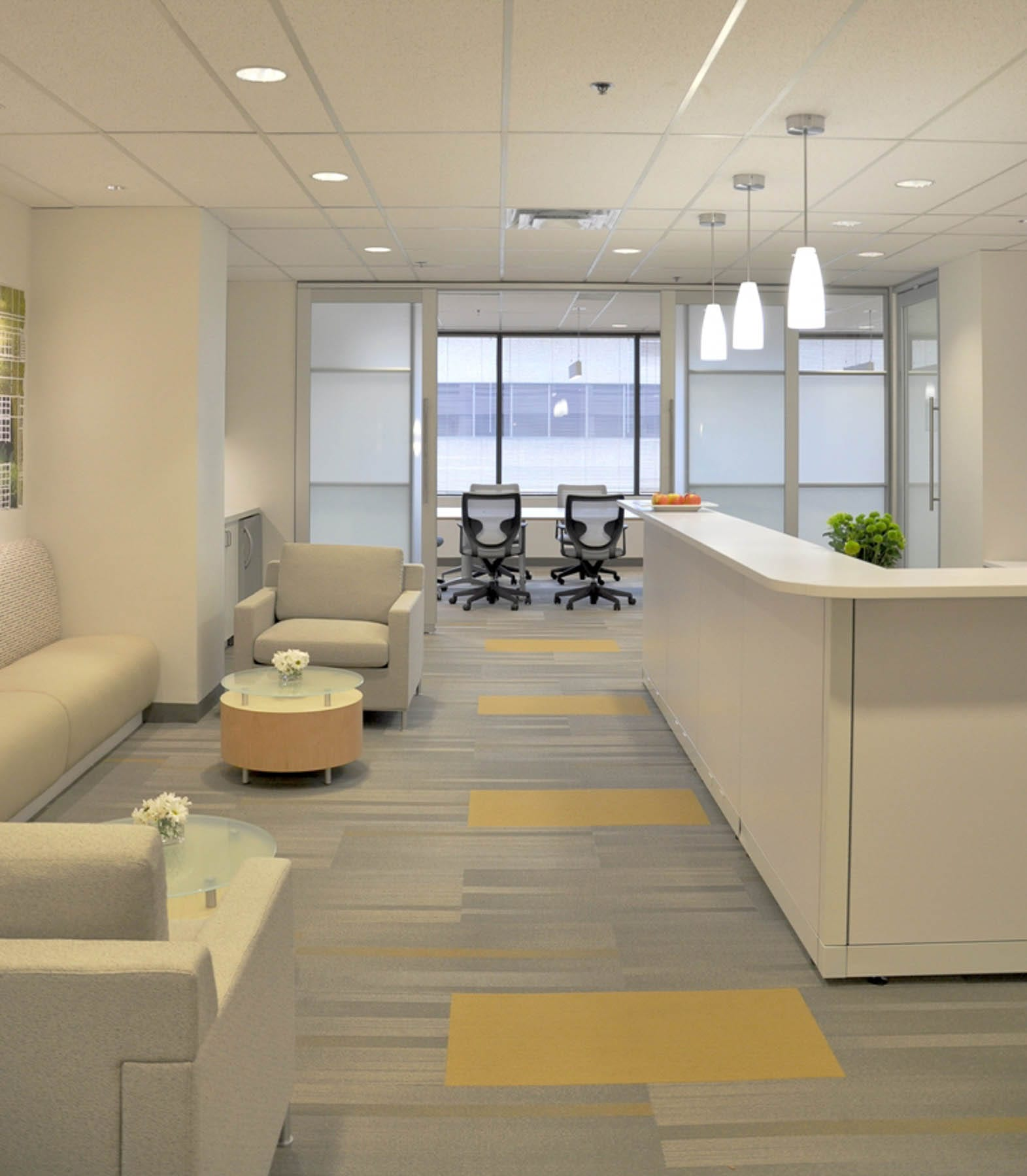 Klein Lyons new office and reception