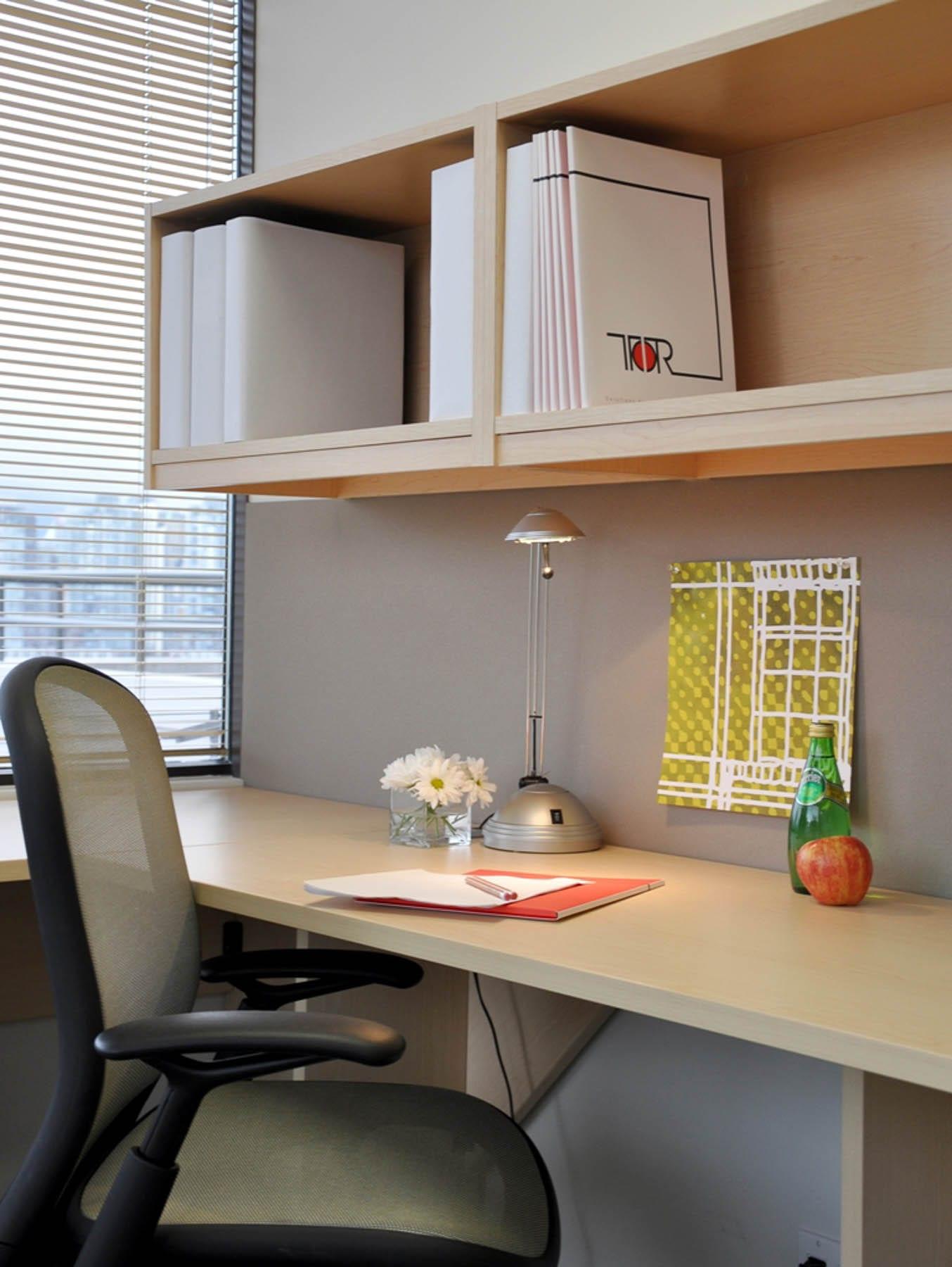 Klein Lyons private office desk