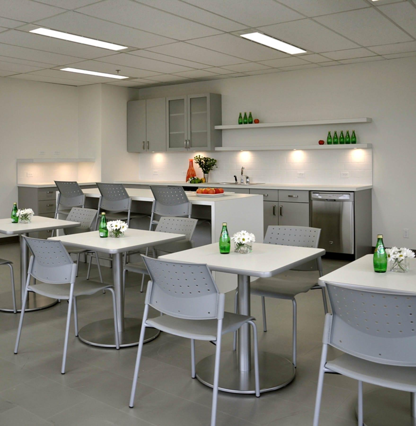 Klein Lyons tenant fitout - staff lounge