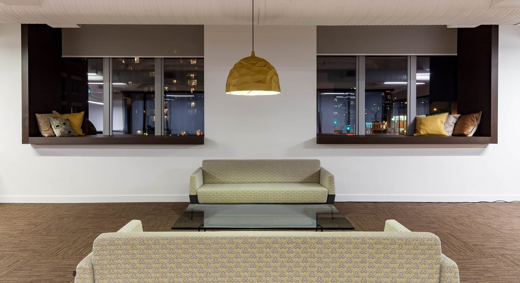 Contemporary Office lounge at MIABC