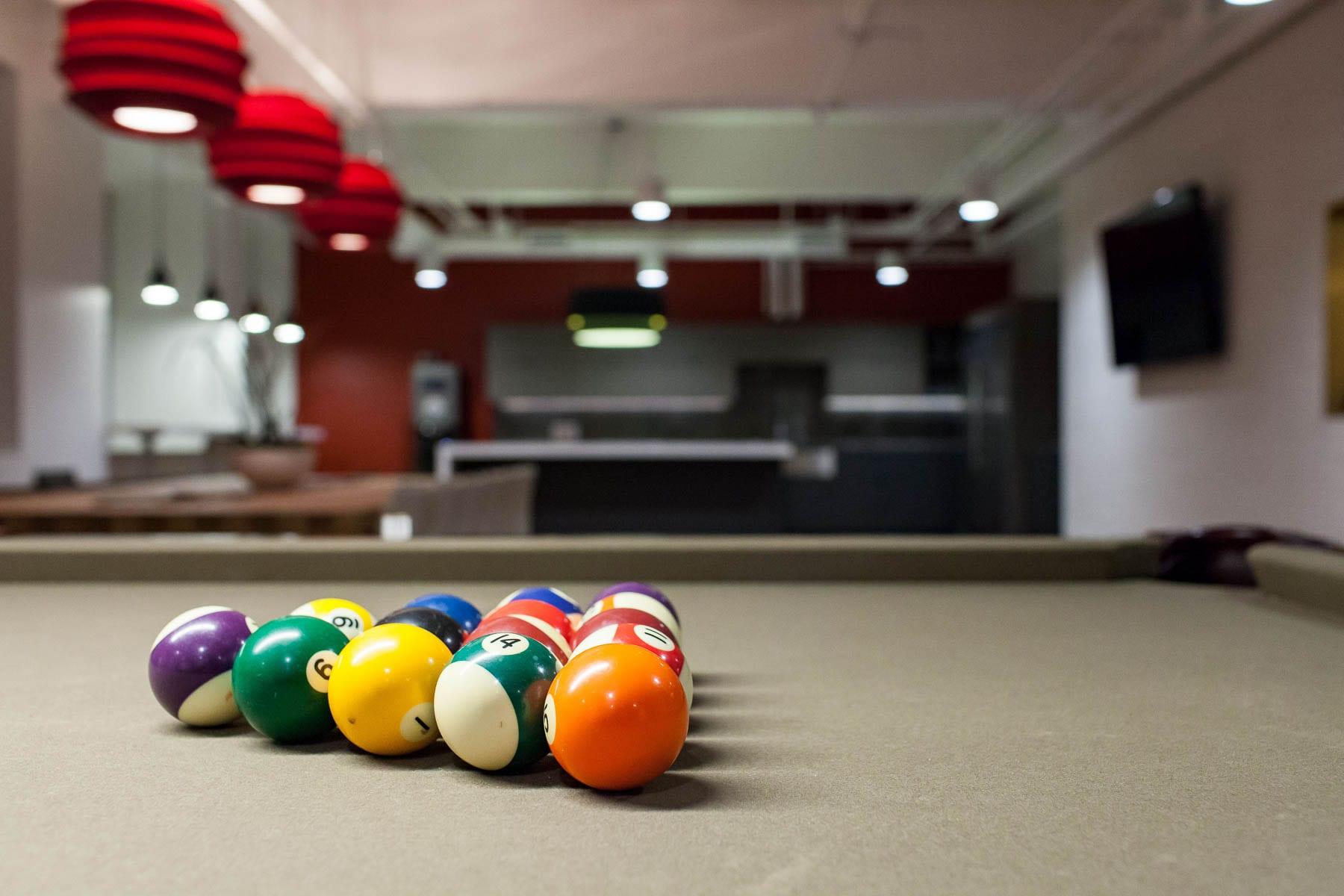 MIABC cozy lounge with pool table