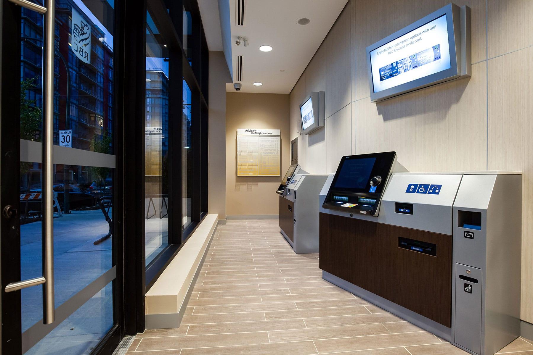 RBC Royal Bank ATM machines
