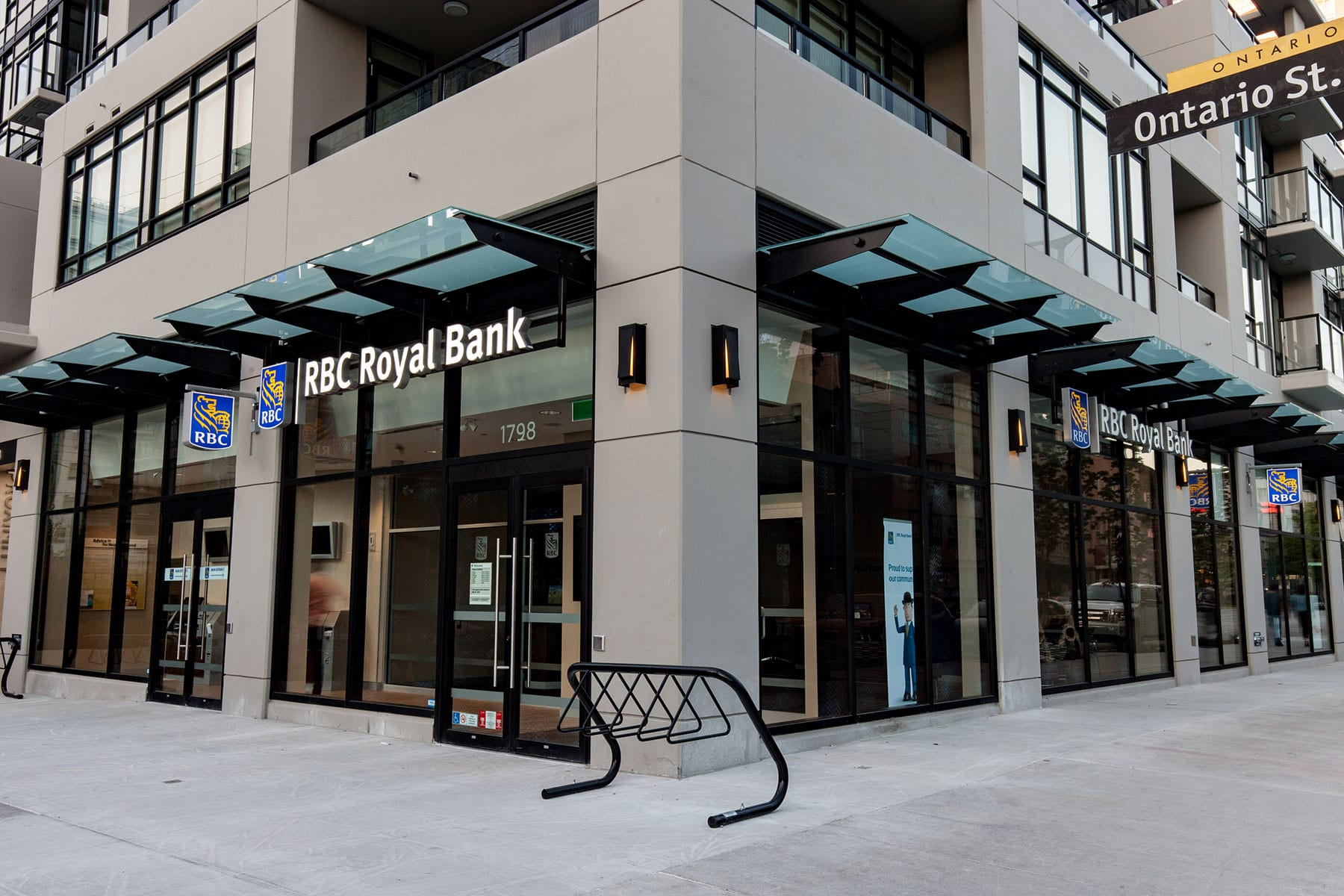 RBC Royal Bank located on Ontario St. in Vancouver