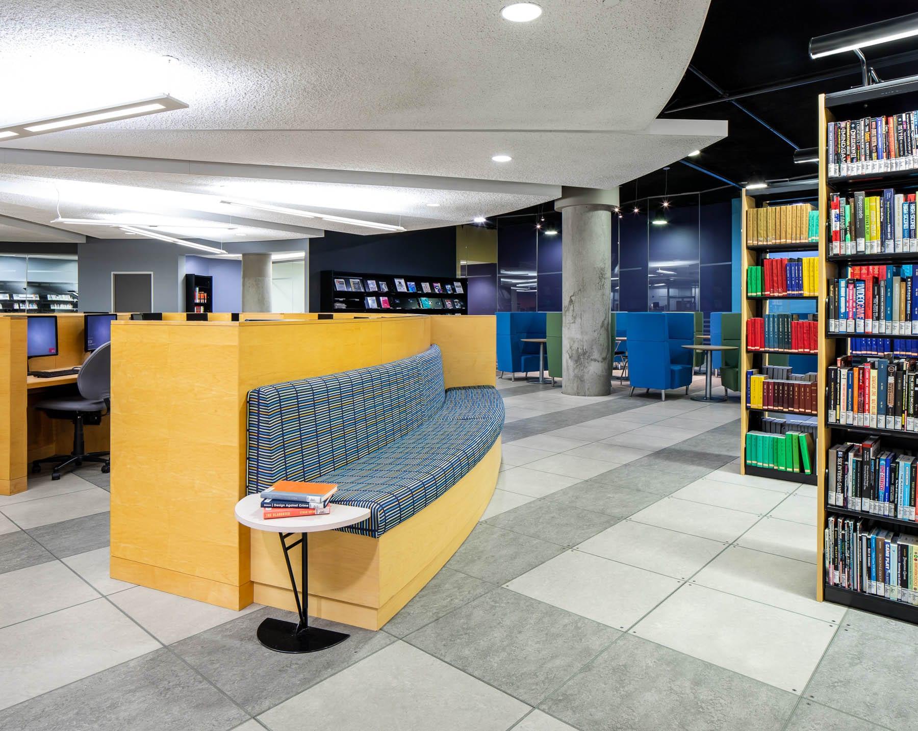 SFU Surrey campus Fraser Library & IT renovation