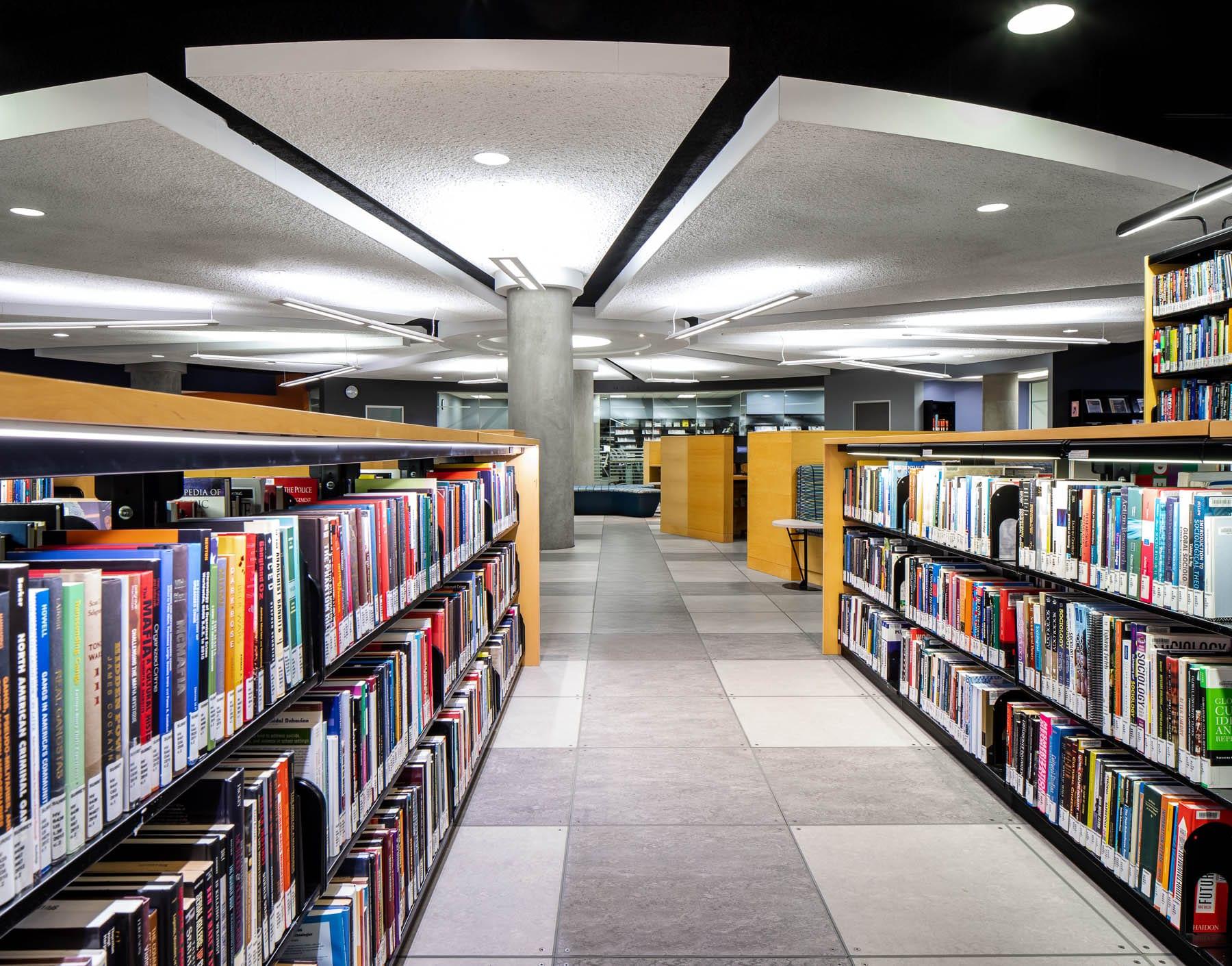 SFU Surrey campus Fraser Library renovation